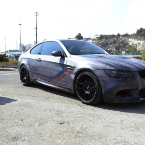 bmw m3 f16 special design car wrap matte metallic color arlon sott avery kpmf grafityp ps ppf 3dcarbon idymonas car wrapping window films
