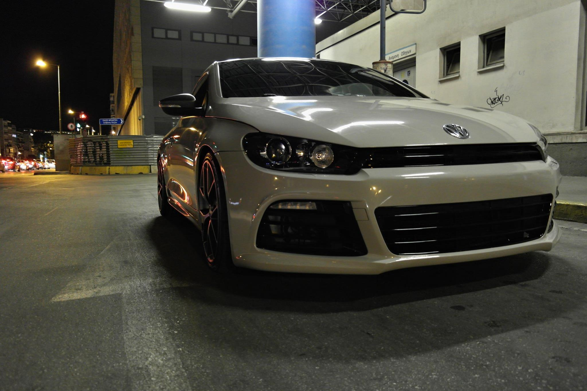 VW SCIROCCO LIGHT GREY - 3DCARBON