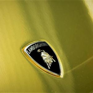lamborgini murchielago in gold chrome never scratch premiumshield color wrap digital print wrap idymonas car wrapping 3dcarbon window films arlon sott avery kpmf ppf