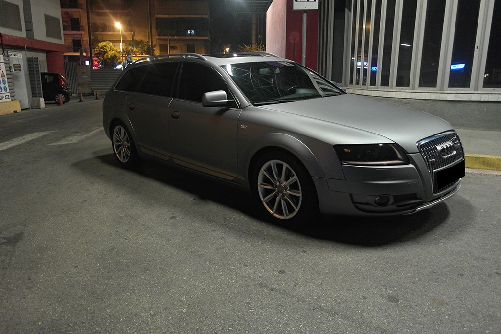 Audi a6 all road 3dcarbon for Avery paint protection film