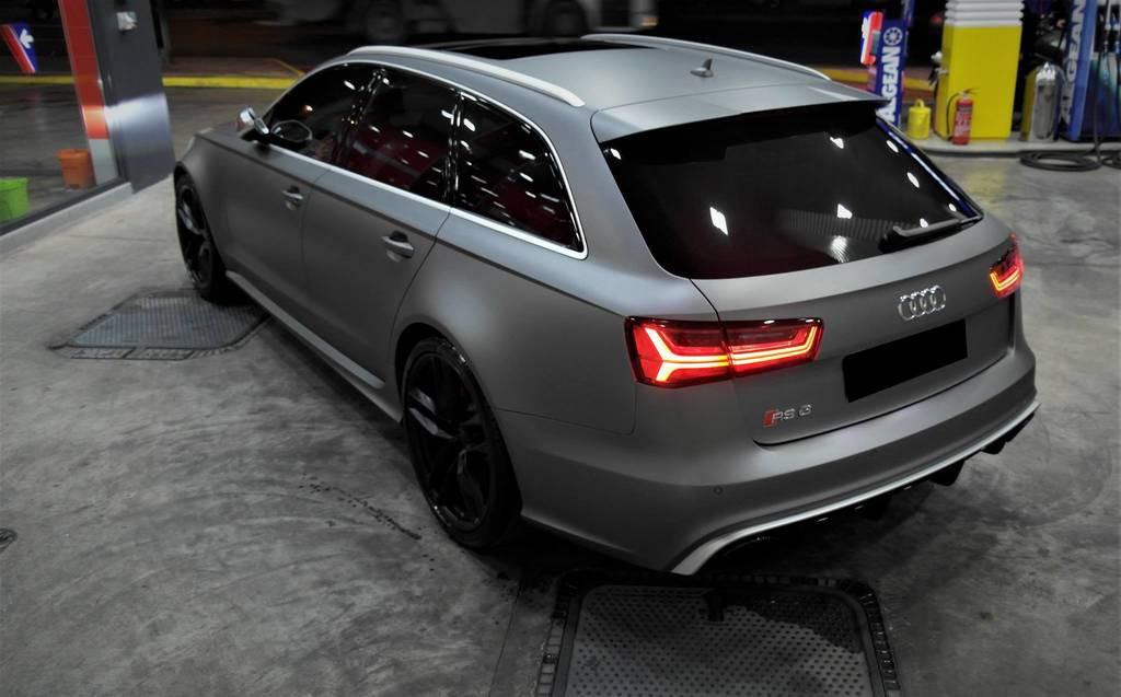 Audi Rs6 Gunmetal 3dcarbon