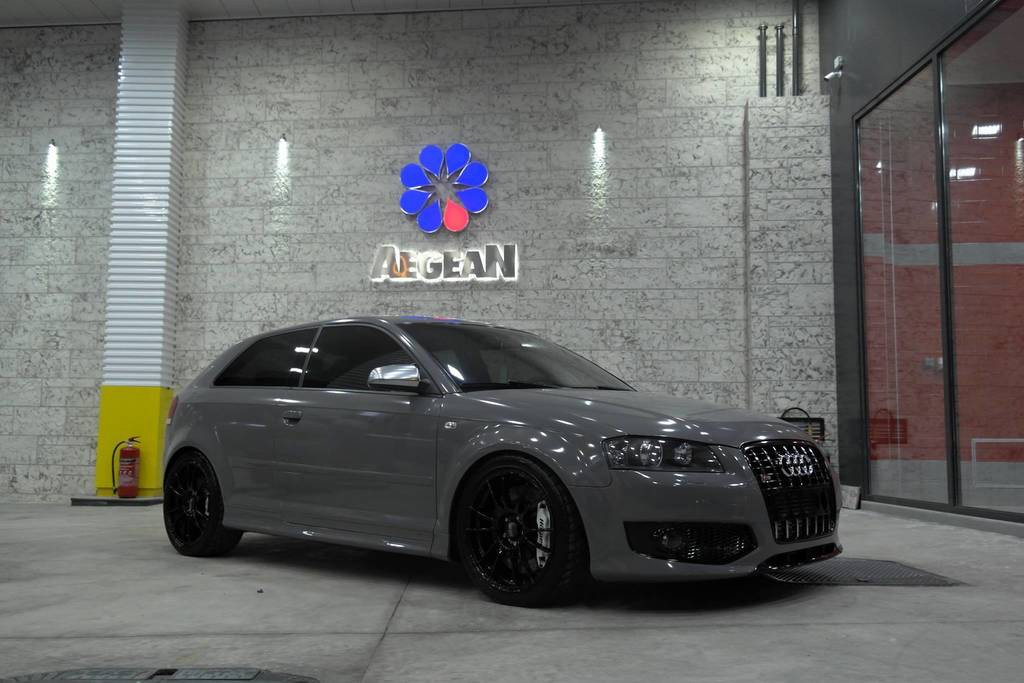 Audi S3 Nardo Grey 3dcarbon