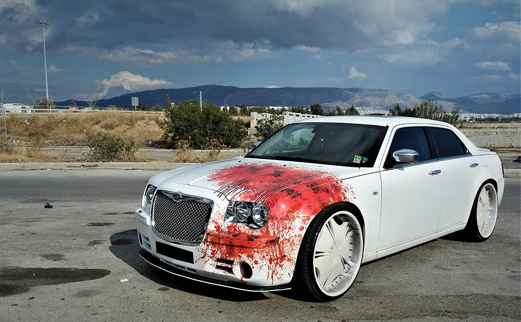 Chrysler C300 Blood Design 3dcarbon