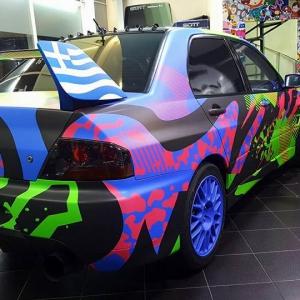 evo gymkhana grid project matte metallic color arlon sott avery kpmf grafityp premiumshield ppf 3dcarbon idymonas car wrapping window films (8)