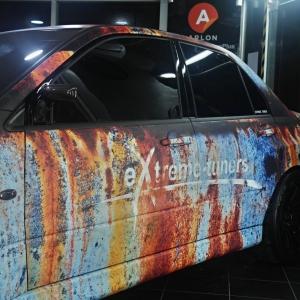 extreme tuners evo rusty design arlon sott avery kpmf grafityp premiumshield paint protection 3dcarbon idymonas car wrapping window films (4)