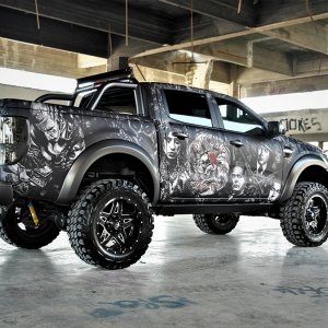 ford-ranger-tatoo-digital-print-wrap--idymonas-car-wrapping-3dcarbon-window-films-arlon-sott-avery-kpmf-ppf-(14)