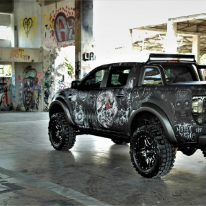 ford-ranger-tatoo-digital-print-wrap--idymonas-car-wrapping-3dcarbon-window-films-arlon-sott-avery-kpmf-ppf-(24)