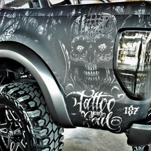 ford-ranger-tatoo-digital-print-wrap--idymonas-car-wrapping-3dcarbon-window-films-arlon-sott-avery-kpmf-ppf-(25)