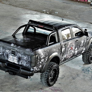 ford-ranger-tatoo-digital-print-wrap--idymonas-car-wrapping-3dcarbon-window-films-arlon-sott-avery-kpmf-ppf-(33)