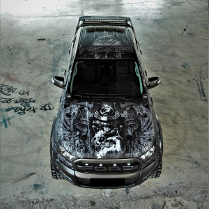 ford-ranger-tatoo-digital-print-wrap--idymonas-car-wrapping-3dcarbon-window-films-arlon-sott-avery-kpmf-ppf-(38)
