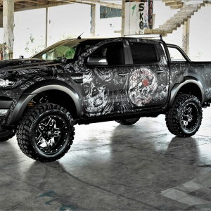 ford-ranger-tatoo-digital-print-wrap--idymonas-car-wrapping-3dcarbon-window-films-arlon-sott-avery-kpmf-ppf-(4)