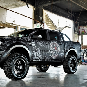 ford-ranger-tatoo-digital-print-wrap--idymonas-car-wrapping-3dcarbon-window-films-arlon-sott-avery-kpmf-ppf-(6)