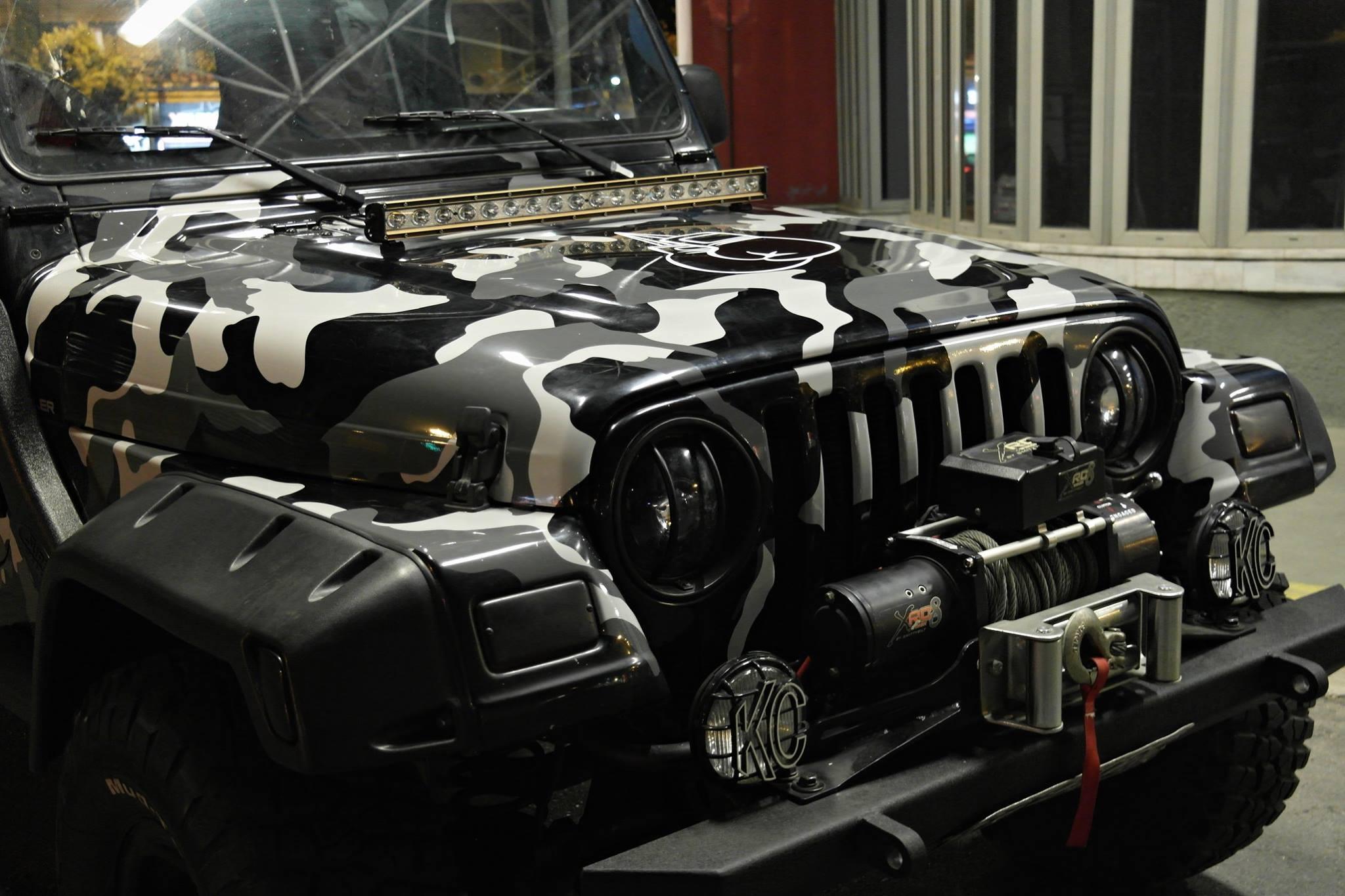 Jeep Wrangler Camo 3dcarbon