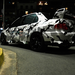mitsubishi lancer evo camo design arlon sott avery kpmf idymonas car wrapping window films ppf 3dcarbon (4)