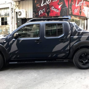 nissan navara special design 3dcarbon avery sott arlon kpmf grafityp premiumshield paint protection film window films carbon gloss matte metallic design print (1)