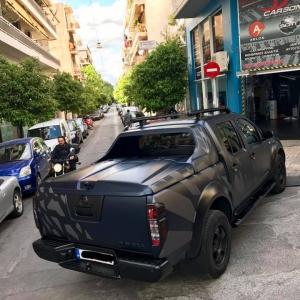 nissan navara special design 3dcarbon avery sott arlon kpmf grafityp premiumshield paint protection film window films carbon gloss matte metallic design print (9)