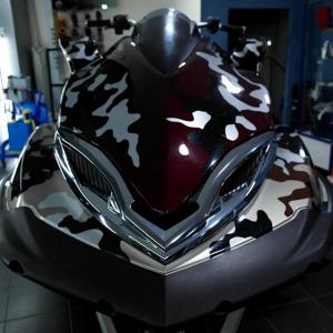 seadoo gtx camo style wrap 3dcarbon avery sott arlon kpmf grafityp premiumshield paint protection film window films carbon gloss matte metallic design print pr (7)
