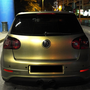 VW R32 ARMY GOLD - 3DCARBON